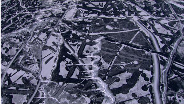 Frozen Lake Baikal Siberia